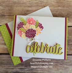 Today's bright and cheerful birthday card comes courtesy of the Beautiful Bouquet Bundle available in the Annual Catalog and the Celebrate You Thinlits available only until March 31st as part of 2018 Sale-A-Bration. It's Thursday and time for another Tic Tac Toe Challenge. The very talented Peggy Noe is our lead designer this week. Here's Peggy's board… I chose the 3rd row across: green, baker's twin, bold sentiment and also the 3rd column down: die… Continue reading