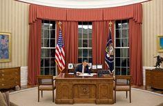 Obama's oval office.