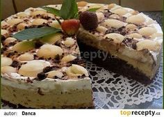 Caffé řezy recept - TopRecepty.cz Cheesecake, Sweets, Cooking, Cakes, Food, Kitchen, Gummi Candy, Cake Makers, Cheesecakes