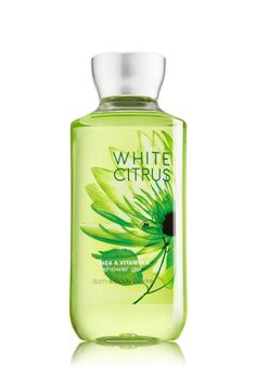 White Citrus Shower Gel - An invigorating blend of crisp citrus & water lily