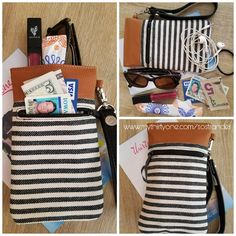 Cinch top case holds more than you think! #thirtyone #twillstripe #summergiftguide