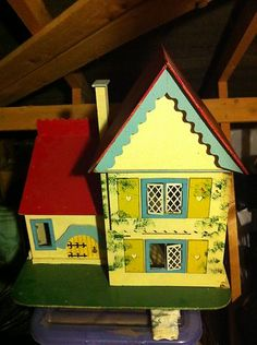 Vintage dolls house | eBay
