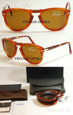 Persol 714 dobrável Steve Mcqueen, Persol, Eyewear, Sunglasses, Vintage, Fashion, Earn Money, Moda, Eyeglasses