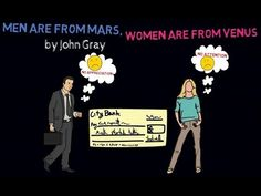 MEN ARE FROM MARS, WOMEN ARE FROM VENUS ANIMATED BOOK REVIEW - THE POINT...