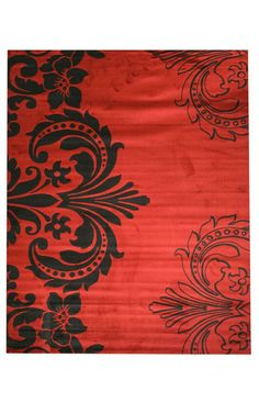 Eastern Oriental Yale Red Sofia Red Rug | Contemporary Rugs