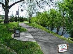 Enjoy the beauty of #mothernature along the #PigeonForge Riverwalk Greenway.