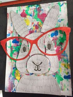 April Art Projects For Kids Easter Bunny 54 Ideas Easter Art, Easter Crafts, Easter Bunny, School Art Projects, Projects For Kids, Lapin Art, 2nd Grade Art, Rabbit Art, Art Lessons Elementary