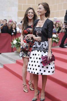 Tamara Falc� e Isabel Preysler espectacular como siempre