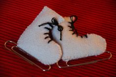 ice skates by sew liberated, via Flickr