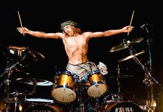 Jesus Performing An Epic Drum Solo  Jesus Everywhere prints available HERE