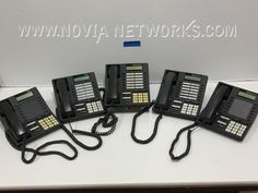 P N 550 4400 Inter Tel Axxess Business Digital Lcd Phone Lot Of 5 Ebay Deals Bargains Novia Networks