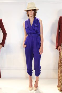 If i ever work up the courage to wear a jumpsuit, it'll be this one by rachel zoe