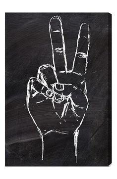 Oliver Gal 'Peace Out' Wall Art