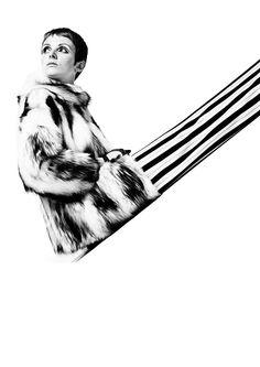 Grace Coddington, 1966.