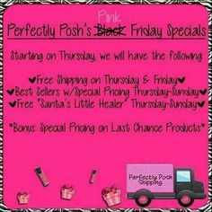 Perfectly Posh black Friday deals! Starting soon! Shop here for all of your gifts and self pampering needs! Everyone deserves and needs to be pampered! Allow me to be your Posh girl! Nothing over $25! Www.perfectlyposh.com/13471 #spa #perfectlyposh #picoftheday #beauty #holidays #blackfriday #deals #mom #gifts #giftideas