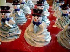 Making Couture Cupcake Winter Wonderland Snowman Soap www.iamhandmade.com