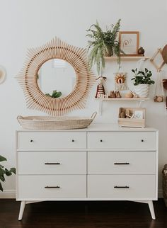 Modern Neutral Nursery Full of Plants – Inspired By This Modern Neutral Nursery Full of Plants – Inspired By This,Nursery room decoration. modern neutral nursery Related posts:DIY Wreaths for the Holidays that Won't Cost. Nursery Room Decor, Bedroom Decor, Boho Nursery, Ikea Bedroom, Nursery Mirror, Bedroom Furniture, Floral Nursery, Project Nursery, Cabinet Furniture