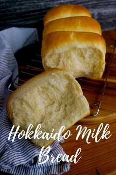Fluffy, soft and delicious! The bread recipe you wish you always knew about! Made with a tang zhong roux to make the loaf extra delicious! #hokkaidomilkbread #milkbread #tangzhong Loaf Recipes, Baking Recipes, Hokkaido Milk Bread, Milk Bread Recipe, Bread Bin, Christmas Sweets, Bread Rolls, Rolls Recipe, Yummy Food