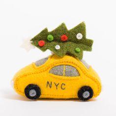 Fair Trade Hand Felted Santa Christmas Decoration Cute Festive Design 100/% Wool Stripey Socks Hanging Tree Ornament