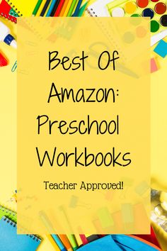 Need quick and easy workbooks to supplement your preschoolers learning? Check out this list of the best preschool workbooks! Teacher approved and available on Amazon! Preschool Workbooks, Homeschool Preschool Curriculum, Preschool Writing, Preschool Projects, Preschool Learning Activities, Preschool At Home, Toddler Preschool, Homeschooling, Alternative Education
