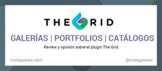 Plugin The Grid review. Ideal para crear portfolios