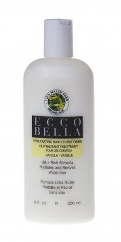 Natural and Organic Vanilla Hair Conditioner Vanilla Conditioner [348] - $14.95 : Ecco Bella | Natural Organic Skin care, Cosmetics and Beauty Products