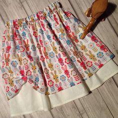 Girl's Party Skirt, Summer Skirt, Easter Skirt, Easter gift, Bunny Skirt