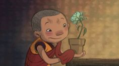Dechen is a Ladhaki, Tibetan Buddhist monk-in-training with a passion for gardening. One stormy night, he rescues an exquisite flower by bringing it indoors. Peace At Last, Relaxing Yoga, Relaxation, Film D'animation, Buddhist Monk, Video Film, Finding Peace, Positive Attitude, Kids Education