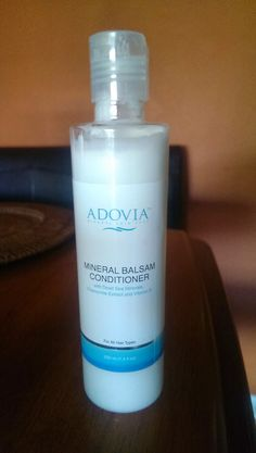 My hair was instantly softened after applying Adovia Mineral Balsam.