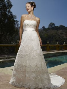 Vintage Inspired Chantilly Lace Casablanca 1900 Gown