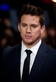 Channing Tatum as Christian Grey.....I think so. Laters Baby!