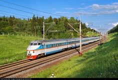 RailPictures.Net Photo: Russian Railways ER200 at Klin, Moscow region, Russia by Ilya Semyonoff