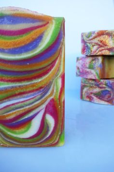 Verbena Handcrafted Soap with shea butter by PitterPatternDesigns