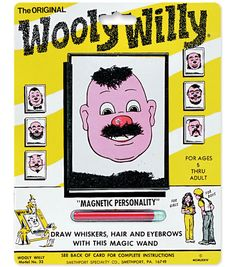 Magnetic Personalities - Original Wooly Willy