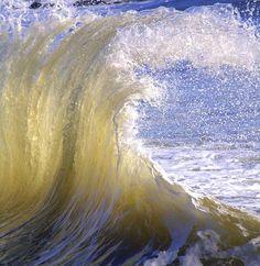 A taffy wave on the Atlantic Ocean