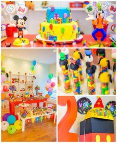 Mickey Mouse y sus amigos celebran con esta hermosa fiesta infantil | i24Web