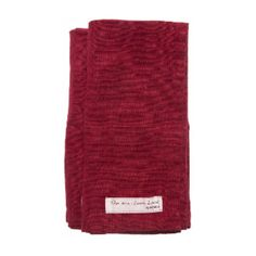 True Red Mira Napkin Pack (£35) ❤ liked on Polyvore featuring home, kitchen & dining, table linens, red table linens, red table napkins and red napkins