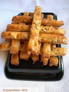 Bastones de pipas - Recetas de cocina Snack, Finger Foods, Carrots, Appetizers, Vegetables, Cocktail, Pipes, Canes, Spanish Kitchen