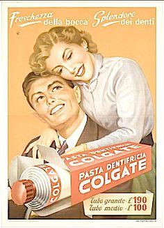 Publicidad antigua pasta de dientes