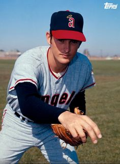 Nolan Ryan - California Angels . One of my favorite MLB pitchers .