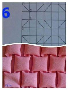 Fabric Manipulation Fashion, Fabric Manipulation Techniques, Textiles Techniques, Smocking Tutorial, Smocking Patterns, Fabric Patterns, Sewing Patterns, Diy Bag Designs, Diy Bags Patterns