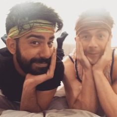Rahul Kohli and Robert Buckley