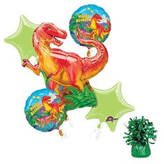 Costume Supercenter BB101448 Dinosaur Party Balloon Kit C...