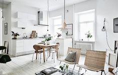 瑞典簡約白色小公寓 - DECOmyplace