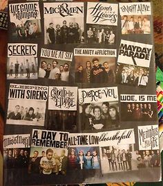 Crown the empire, Sleeping with Sirens, Tonight Alive, Mayday Parade, Hands like Houses