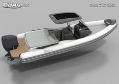 Noah 26 - Daniele Rizzo Design Wooden Boat Plans, Wooden Boats, Yacht Design, Boat Design, Rib Boat, Yacht Boat, Water Crafts, Yachts, Ribs