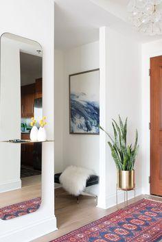 boho-chic entryway