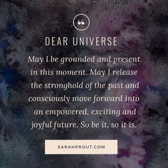 When There Is Difficulty Letting Go Of The Past And Moving Forward | Sarah Prout | Manifesting & Law of Attraction
