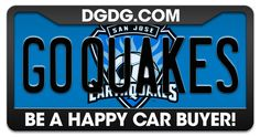 Good Luck to the San Jose Earthquakes!!! From all your fans at www.dgdg.com