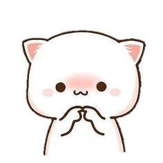 Cute Anime Cat, Cute Bunny Cartoon, Cute Kawaii Animals, Cute Cartoon Pictures, Cute Cat Gif, Cartoon Pics, Cute Cartoon Wallpapers, Cute Bear Drawings, Cute Animal Drawings Kawaii